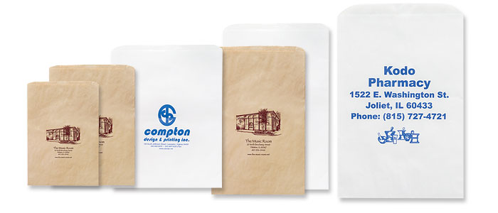 Short Run Printed Merchandise Bags