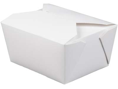 MeyerPak Coated White Take-out Boxes