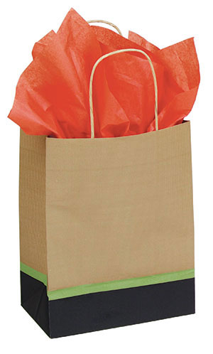 Modern Kraft Paper Shopping Bags