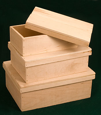 Nesting Set of Keepsake Boxes
