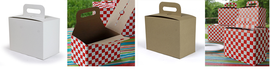 Stackable Picnic Boxes with Handle