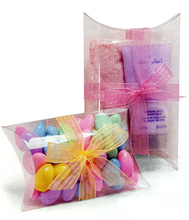 Clear Acetate Pillow Boxes