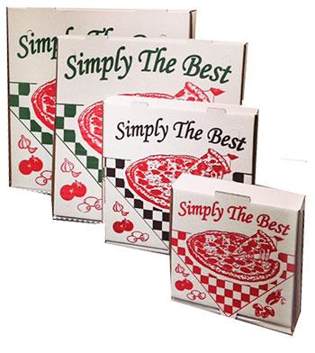 Design Corrugated Pizza Box