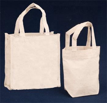 Plain Cotton Handle Pouches