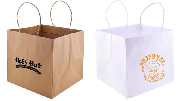 Low Minimum Printed Wide Gusset Bags