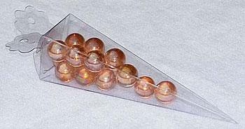 Clear Pyramid Cone Favor PVC Box