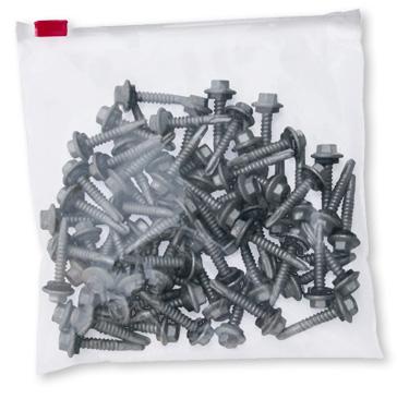 Premium 3mil Polyetheylene Slider Zip Bags