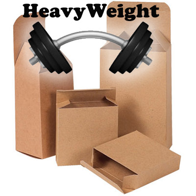 Reverse Tuck Heavy Weight Flap Kraft Box
