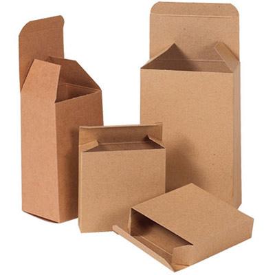 Reverse Tuck Flap Kraft Box