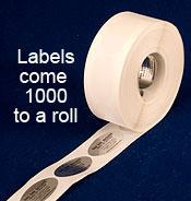 Custom Ink Printed Labels