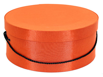 Orange Hat Boxes