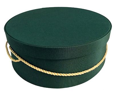 Dark Green Hat Boxes