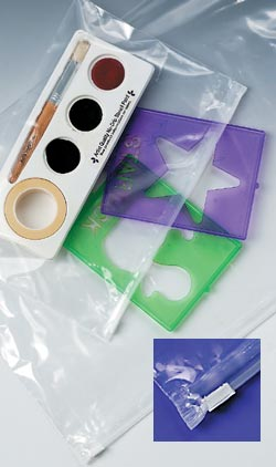 Clear 3mil Polyethylene Slide Seal Plastic Bags