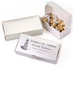 Folding 1 Piece White Candy Boxes
