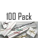 100 Pack of Pre-Tied Elastic Loops
