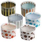 Round Plastic Favor Boxes