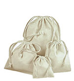 12 Pack Premium Cotton Drawstring Pouches