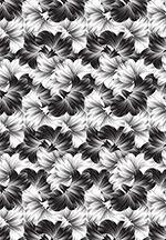 Woodcut Hibiscus