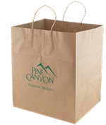 Jumbo Gusset Printed Take Out Bag