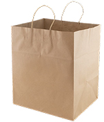 Jumbo Gusset Take Out Bag