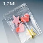 1.25 mil. Layflat Polyethylene Bags