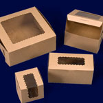 Ohio Valley Kraft Windowed Cupcake Boxes