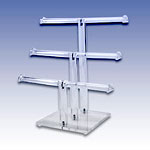 251-T3B - ACRYLIC TRIPLE T BAR DISP