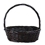 2693BR Oval Brown Basket