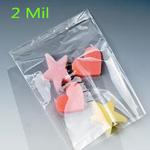 2 mil. Layflat Polyethylene Bags