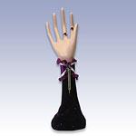 377-21742P - PURPLE JEWELRY HAND FORM