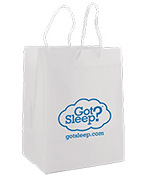 Frosted Clear Imprinted EuroTote