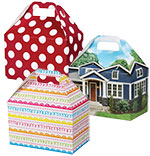 Theme Gable Gift Basket Boxes
