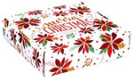Christmas Pointsettia Corrugated Mailer Boxes