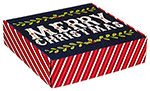Christmas Greetings Corrugated Mailer Boxes