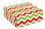 Holiday Chevron Corrugated Mailer Boxes