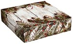 Rustic Winter Corrugated Mailer Boxes