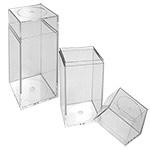 2 1/8 x 2 1/8 x 6 - Plastic Cube Boxes
