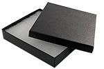 Black Swirl 65 Jewelry Box Cotton Insert