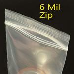 Heavy Duty 6mil Zip Style Bags