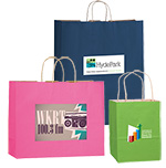 Short Run 4 Color Imprint Matte Color Bags