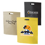 Custom Printed NonWoven Die Cut Handle Totes