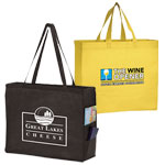 Custom Printed NonWoven Handle Totes