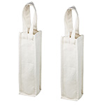 Strap Handle Canvas Wine Bags