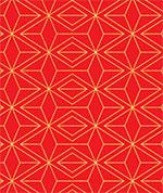 Gold Red Geo
