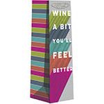 Wine a Bit Bottle Bags