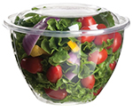 Biodegradable 48 oz. Salad Bowl w/ Lid