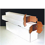 EZ Square Tube Corrugated Mailers