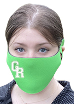 Stretchable Imprinted Polyester Face Cover