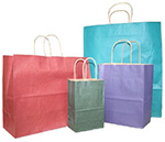 Nifty50 Tints & Prints Paper Bags w/ Twisted Paper Handle