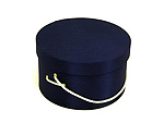 Navy Blue Hat Boxes